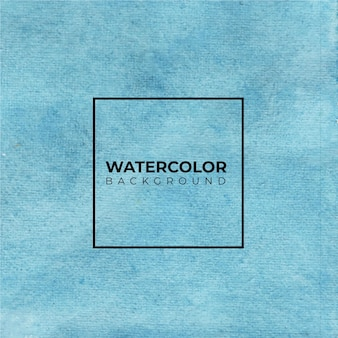 Blauer aquarell-hintergrund. aquarellbeschaffenheit.