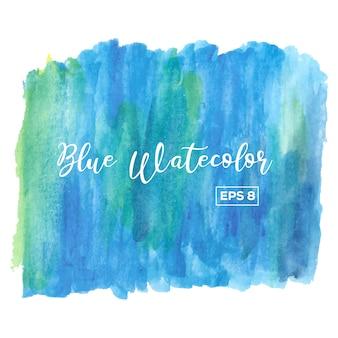 Blauer aquarell hintergrund