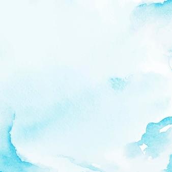 Blauer aquarellart-hintergrundvektor