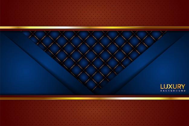 Blauer brauner luxushintergrund
