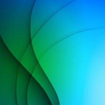 Blauer eleganter geschäftshintergrund.