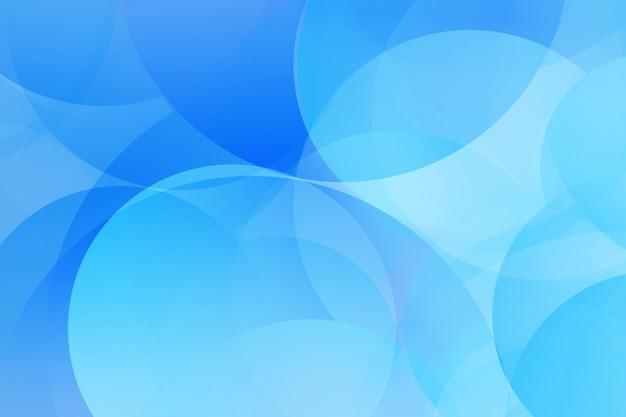 Blauer farbmoderner geometrischer elementzusammenfassungshintergrund