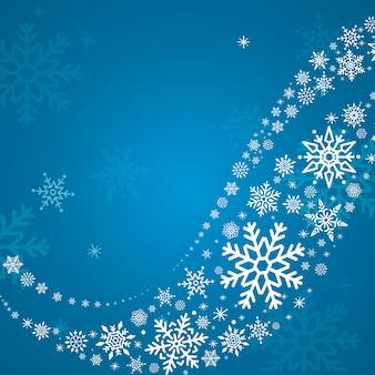 Blauer feiertagsdesignhintergrund
