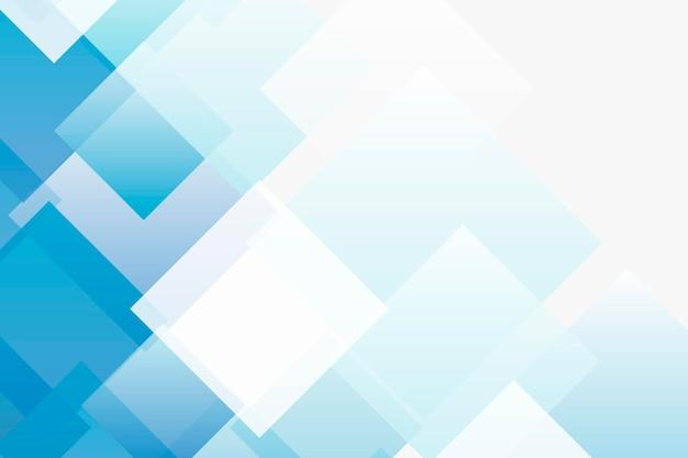 Blauer geometrischer hintergrund