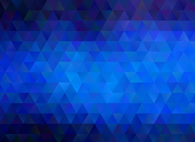 Blauer geometrischer zerknitterter dreieckiger niedriger polyartsteigungs-grafikmehrfarbenhintergrund. polygonales design für ihr unternehmen.