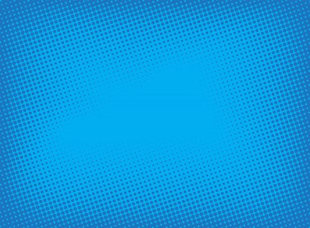 Blauer gepunkteter hintergrund