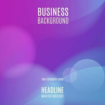 Blauer Geschäftshintergrund