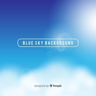 Blauer himmel backround