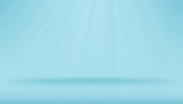 Blauer hintergrund leer. minimal.