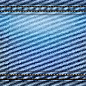Blauer jeansweinlese-materialhintergrund