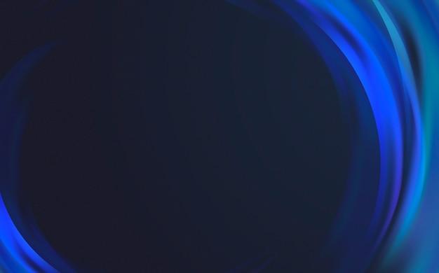Blauer lichtwellenrand hintergrund