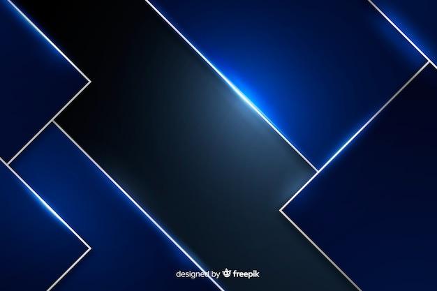 Blauer metallischer beschaffenheitshintergrund