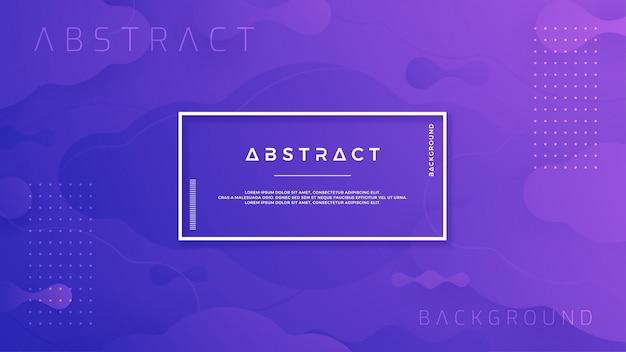 Blauer purpurroter abstrakter flüssiger hintergrund.