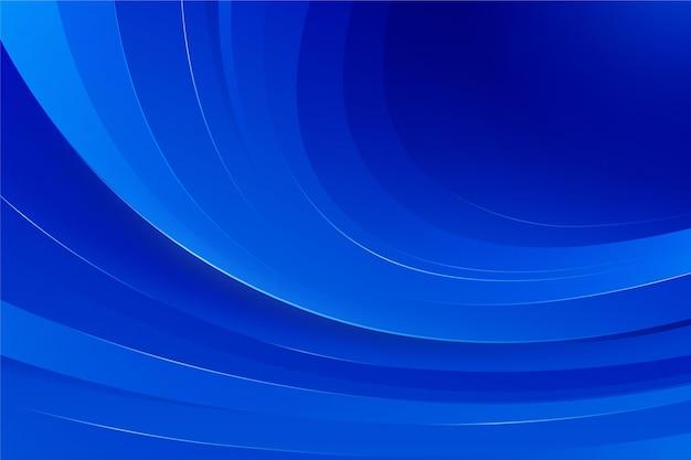 Blauer schatten welliger hintergrund