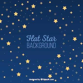 Blauer stern hintergrund
