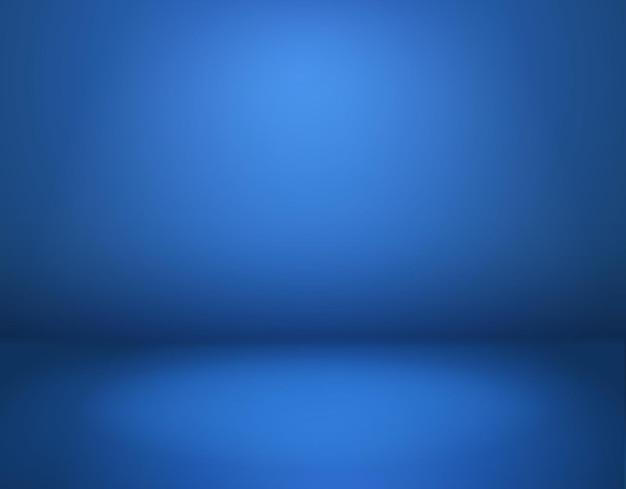 Blauer studiohintergrund