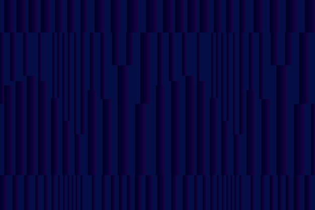 Blauer technologiehintergrundvektor des geometrischen musters mit rechtecken
