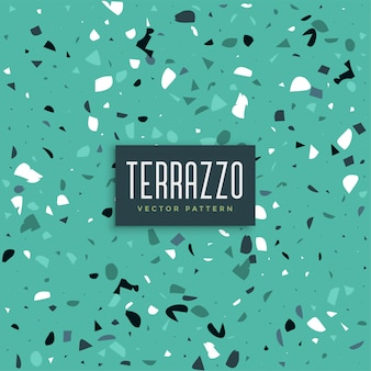 Blauer terrazzo-beschaffenheitsmusterhintergrund