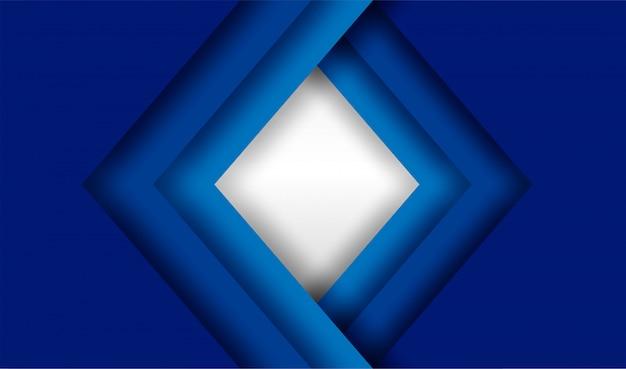 Blauer überlappungshintergrund