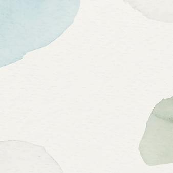 Blauer und grüner aquarell gemusterter hintergrund