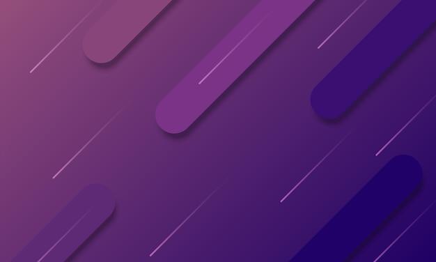 Blauer und lila farbverlauf abgerundeter flüssiger hintergrund. intelligentes design für ihre geschäftsanzeige.