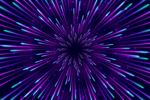 Blauer und violetter geschwindigkeitslichthintergrund