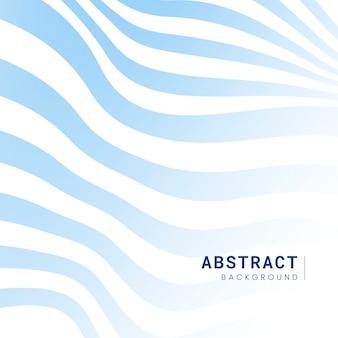 Blauer und weißer gestreifter abstrakter hintergrundvektor