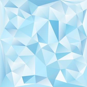 Blauer und weißer strukturierter kristallhintergrund