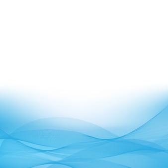 Blauer wellenhintergrund