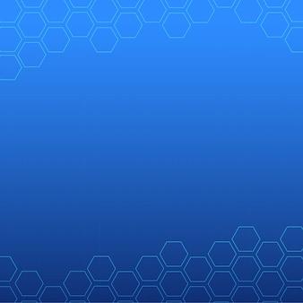 Blaues abstraktes hintergrunddesign