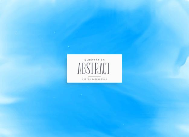 Blaues aquarellbeschaffenheitshintergrunddesign