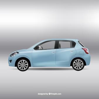 Blaues auto