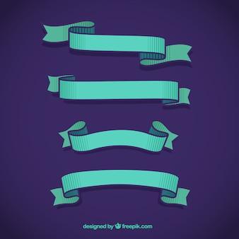 Blaues band sammlung