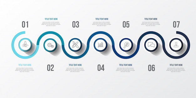 Blaues infographic mit tabelle 3d