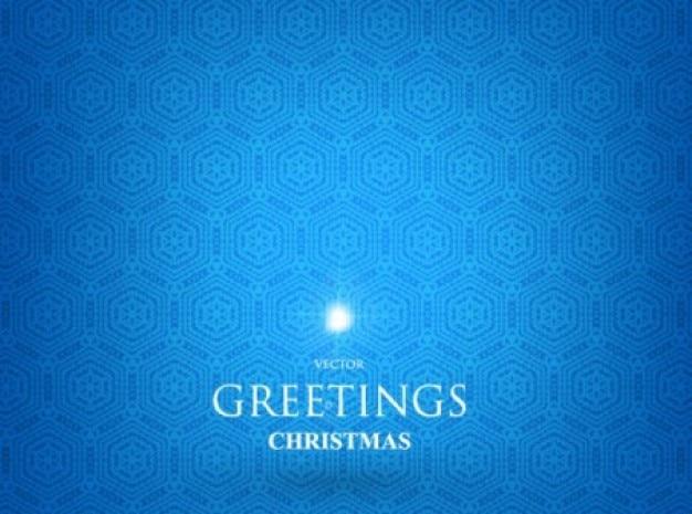 Blaues muster für weihnachtsgrüße
