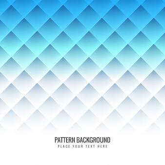 Blaues muster hintergrund