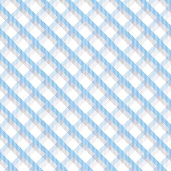 Blaues und weißes plaidmuster