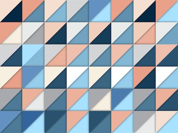 Blaues, weißes und beige nahtloses muster
