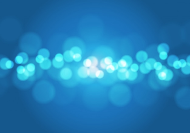 Blaulicht bokeh unschärfehintergrund