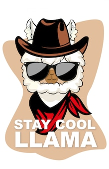 Bleib cool lama zitate