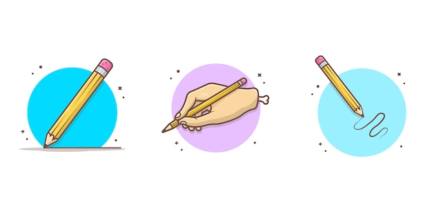 Bleistift-symbol illustration