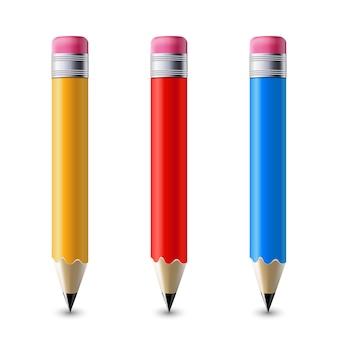 Bleistifte eingestellt