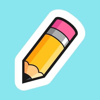 Bleistiftkarikaturillustration