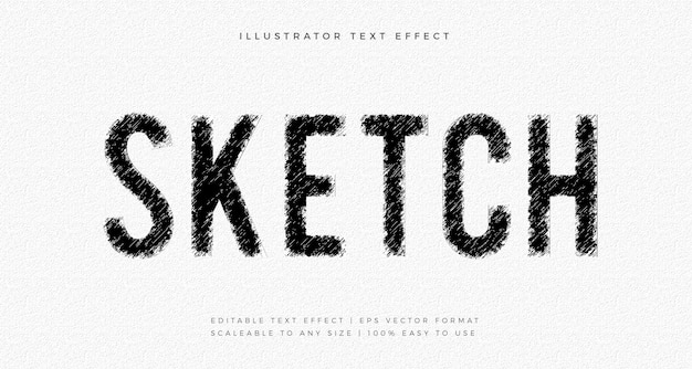 Bleistiftskizze zeichnung textstil schrifteffekt