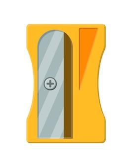 Bleistiftspitzer aus kunststoff. bürobedarf briefpapier