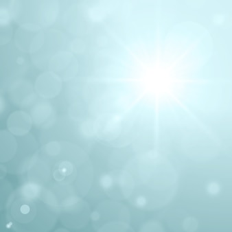 Blendenflecklicht- und -glühenbokeh-effektvektor