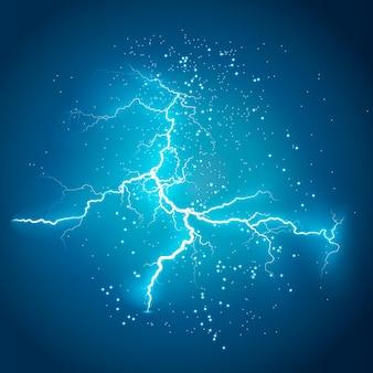Blitz blitzlicht donner funken