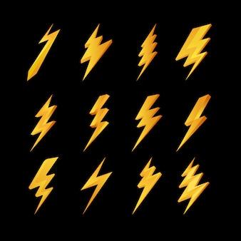 Blitz-icons-sammlung