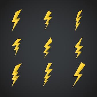 Blitze gesetzt