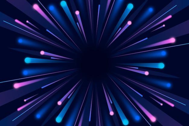 Blitzlicht hintergrundkonzept